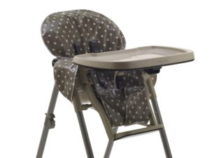 high chair cover - grey